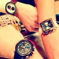 ■運気アップは右手に腕時計?■